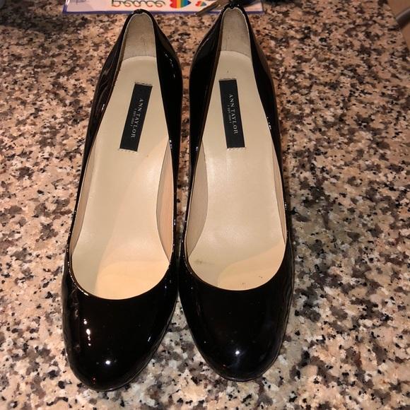 Ann Taylor Shoes | Black Heels | Poshmark